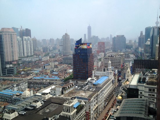 Le Royal Meridien Shanghai: Room view 27Th fl.