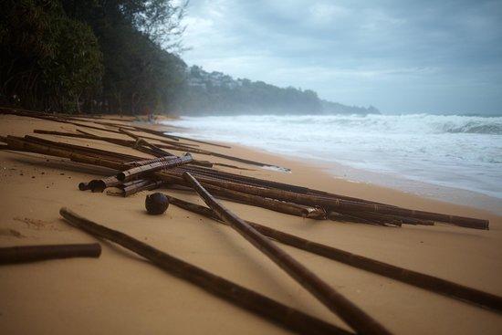 Naithonburi Beach Resort : На пляже