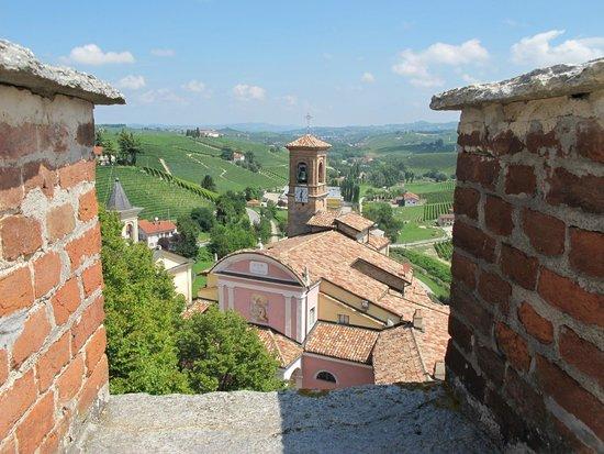 WiMu - Museo del Vino a Barolo : Sur la terrasse du musée
