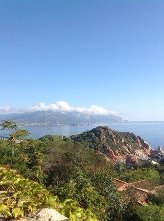 Monte Turri Luxury Retreat: vue de la terrasse du Monte Turri