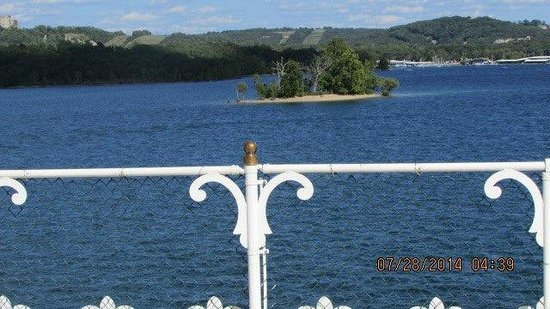 Showboat Branson Belle: View from the top deck
