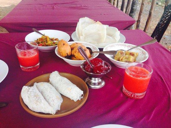 Sigiri Queens Rest Guest House: Petit déjeuner jour 2
