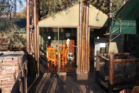 Marakele National Park: keukentent