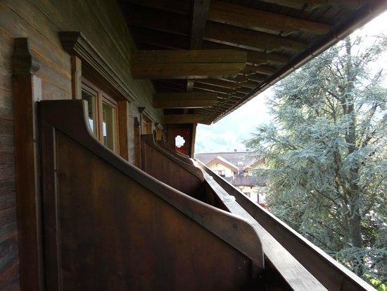 Rissbacher Hof: Le balcon de la chambre
