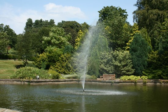 Breadsall Priory Marriott Hotel & Country Club: Hotel gardens