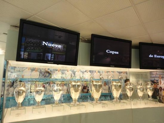 Estadio Santiago Bernabéu: Ahora ya son 10