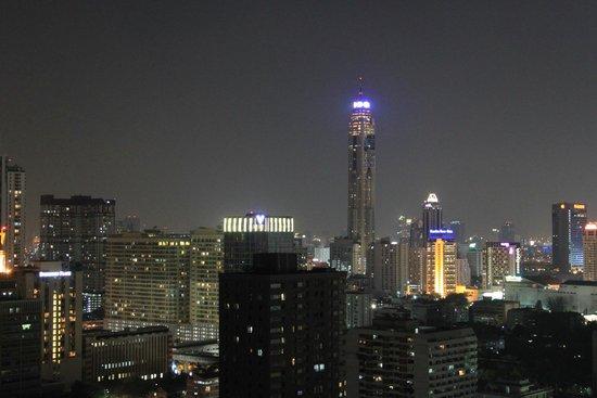 Siam@Siam Design Hotel Bangkok: Sicht von der Dachbar