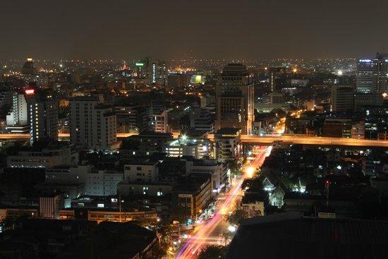 Siam@Siam Design Hotel Bangkok : Sicht von der Dachbar