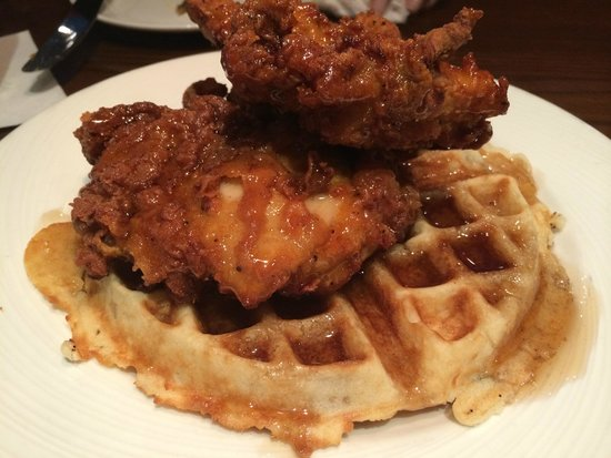 Chicken & Waffles - Picture of American Tap Room, Bethesda ...