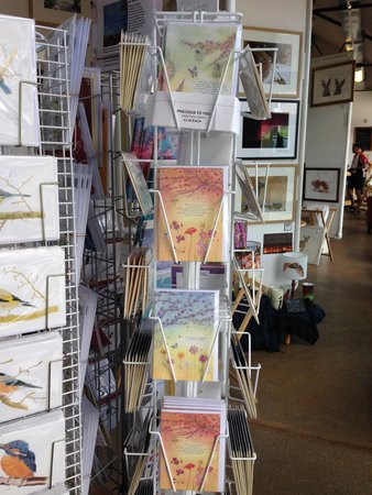 Cafe NeST: Nest Shop sells cards, prints and original art.