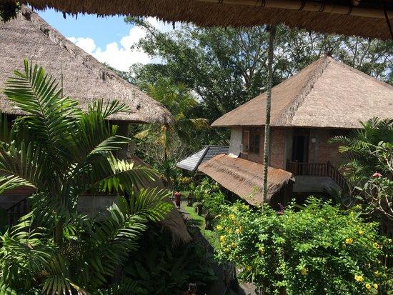 Bunga Permai Hotel: Vue de la terrasse...