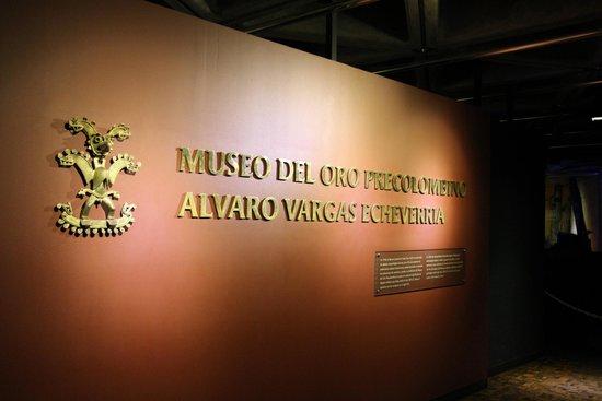 Museo del Oro Precolombino: Main entry