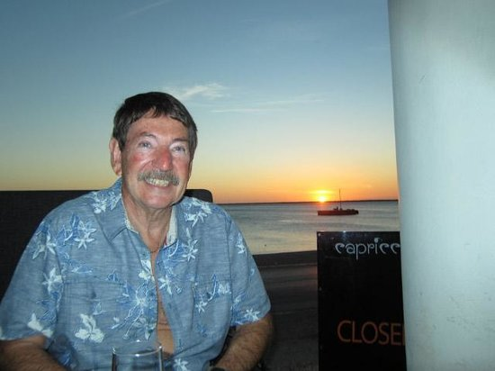 Capriccio Ristorante: Sunset