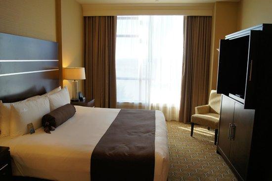 River Rock Casino Resort: Bedroom in penthouse suite
