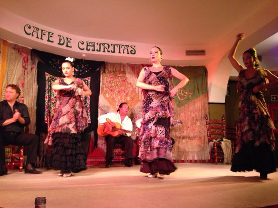 Cafe de Chinitas: Ótima dança flamenca!