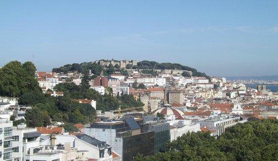 Tivoli Avenida Liberdade Lisboa : View from Sky bar