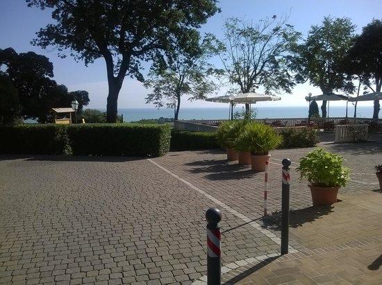 Hotel Bel Sit: la terrazza