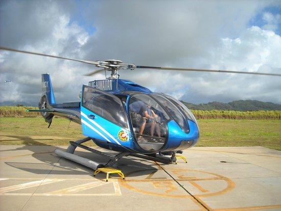 Blue Hawaiian Helicopters - Kauai: Heli