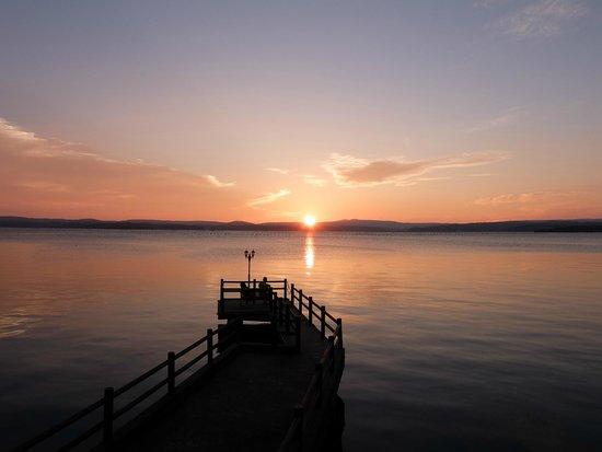 Tadaya: 桟橋と夕景