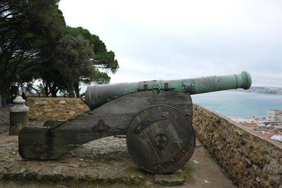 Castillo de San Jorge: Пушка