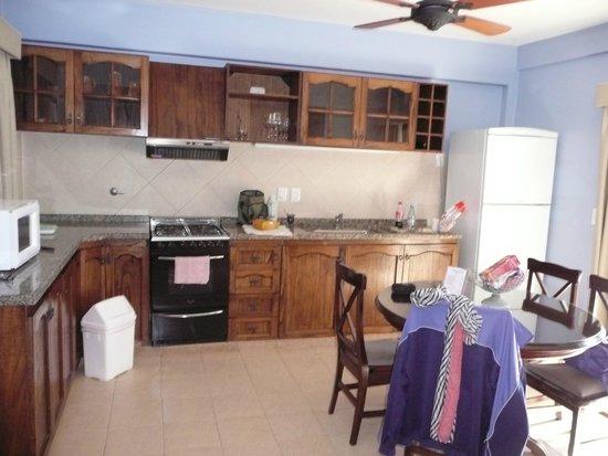 Iguazu Jungle Lodge: cocina con todo lo necesario