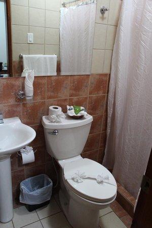 Jaco Laguna Resort & Beach Club: Clean but tiny bathroom