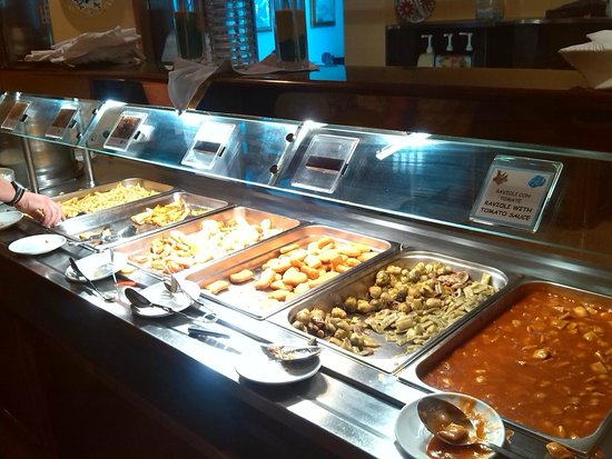 Globales Simar: Comedor (buffet)