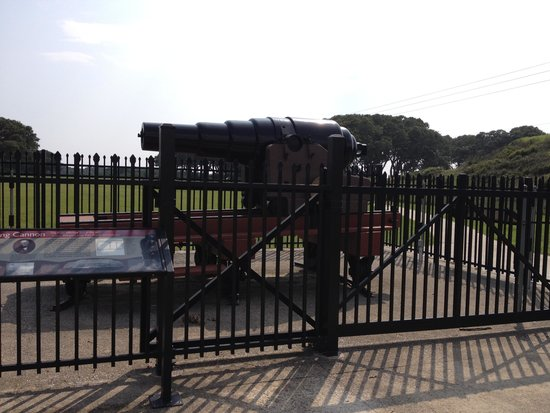 Fort Fisher State Historic Site: Adams Cannon Fort Fisher