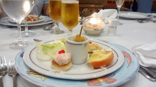 Iberostar Bavaro Suites : Excelente toda la comida del Bávaro