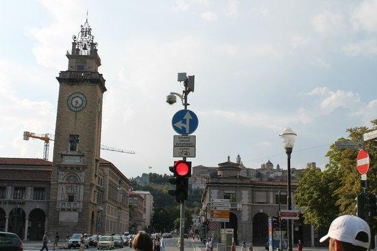La Citta' Alta : Центр Бергамо