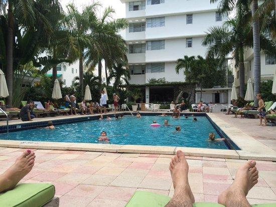 South Seas Hotel: the pool