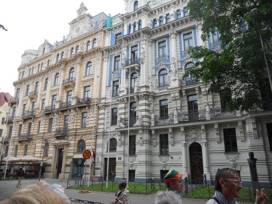 Old City Riga (Vecriga): meravigliosi edifici ben restaurati