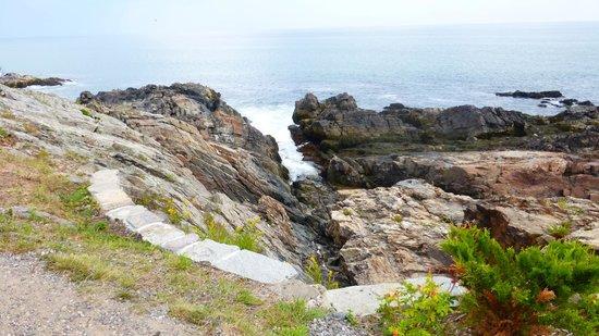 Marginal Way : rochers de toutes formes