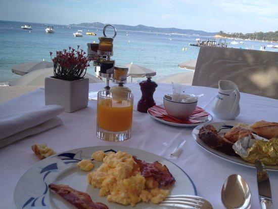 Le Club De Cavaliere & Spa : Petit déjeuner plus que parfait!