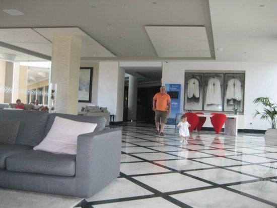 Hotel Golf Almerimar: recepccion del hotel