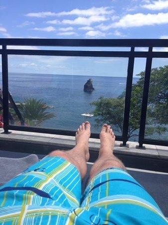Enotel Lido Madeira: vue du transat...