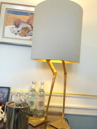 Claridge's: cute duck lamps