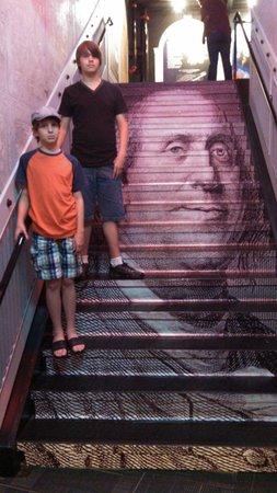 WonderWorks: Neat staircase