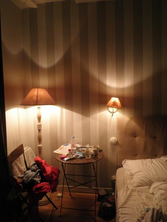 L'Hotel Particulier: The room 5 - at night
