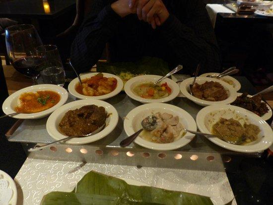 Long Pura: Les plats
