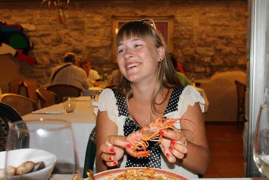 Da Franco Ristorante Pizzeria: Самое вкусное блюдо