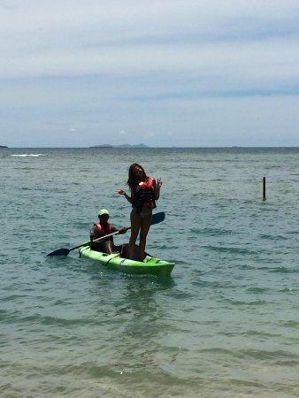 First Landing Beach Resort & Villas: Kyaking