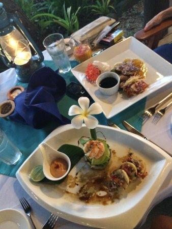 First Landing Beach Resort & Villas: Lovely food
