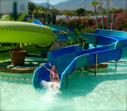 Aqua Natura : Smaller slides for the ones that aren't quite tall enough for the bigger slides