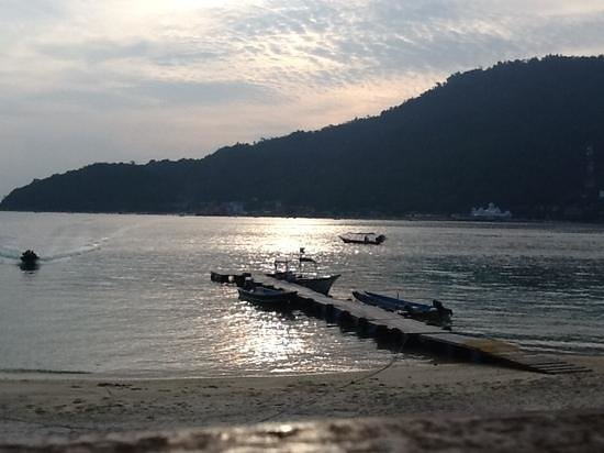 Perhentian Tuna Bay Island Resort: view from the restaurant.