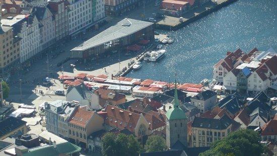 Mount Floyen and the Funicular (Floibanen): Fischmarkt Bergen