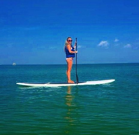 Beach House Suites by Loews Don CeSar : Paddle boarding - provided by hotel