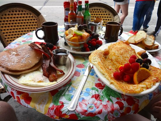 Hollywood Cafe: Breakfast