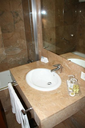 Eurostars Toledo: lavabo