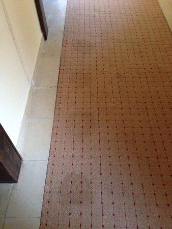 Yadis Djerba Golf Thalasso & Spa: La pulitissima moquette nei corridoi dello yadis..